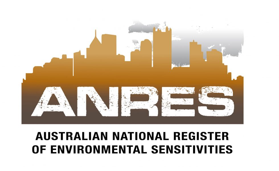 Australian National Register of Environmental Sensitivities